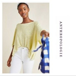 NWT Anthropologie Alicia Shimmer Pullover